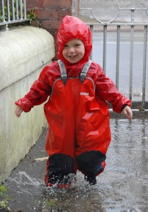 Ruairi in the Rain