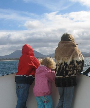 On the ferry to Tory Island
