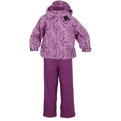 New Fleece Set Lilac Detailed